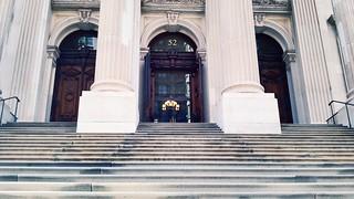 Entrance, Tweed Courthouse
