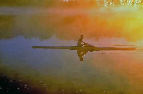 sunrise riverthames abingdon