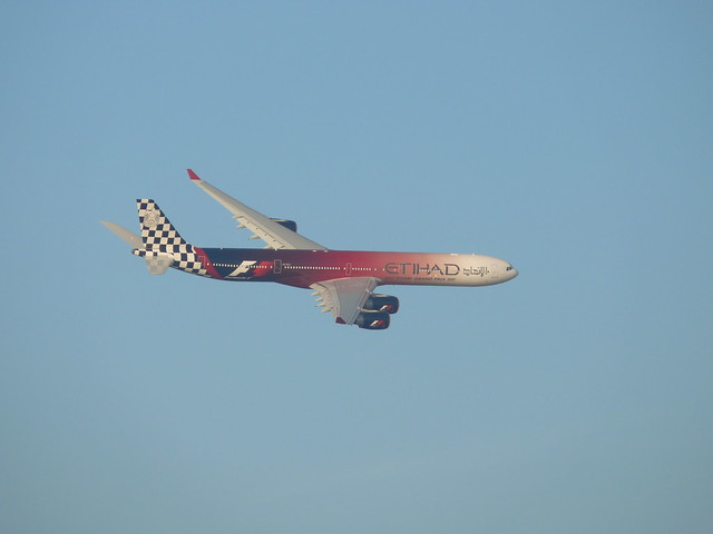 Airbus A340 Etihad Airways Abu Dhabi F1 Grand Prix 2011