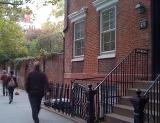 Brownstowns, Hudson Street, New York