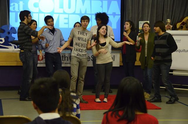 Nonsequitur of Columbia University