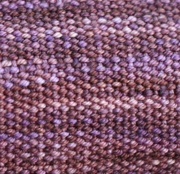 Woven scarf for Kate [detail]