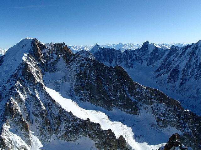 Viewing south from Aig. Chardonnet