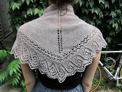 Oak Savanna shawl