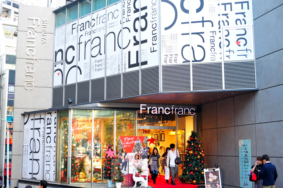 Francfranc Shibuya, ready for Xmas