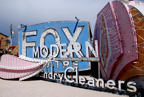 neon at rest, neon boneyard Las Vegas