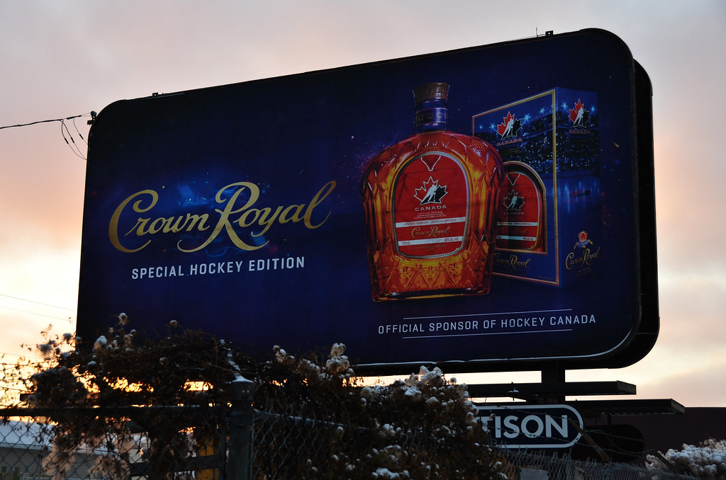 Crown Royal Billboard