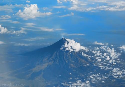 mountain landscape volcano