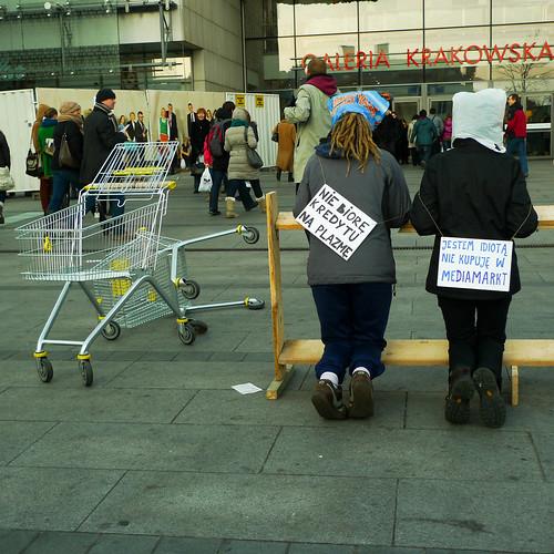 Dzień bez kupowania 2011 (fot. Marcin Wójcik)