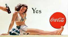 Coke Yes Girl
