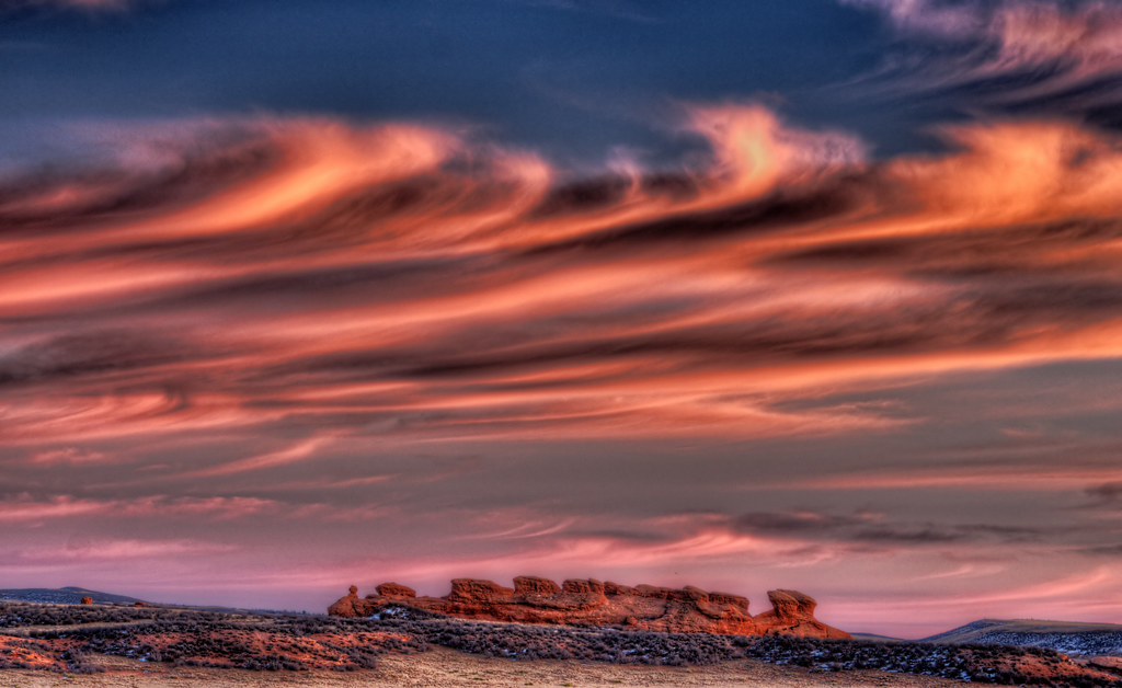 Wave Clouds over Sphinx Rocks