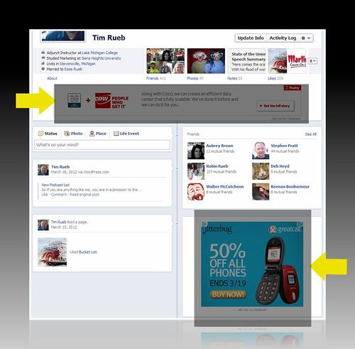Facebook Timeline Ads