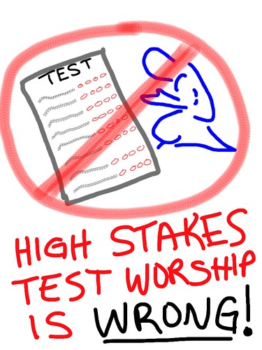 High Stakes Test Worship is WRONG!