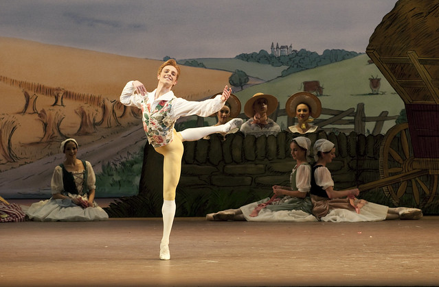 Steven McRae as Colas in La Fille Mal Gardee © Tristram Kenton/ROH 2010