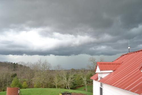 thunderstorm by oyabakamama