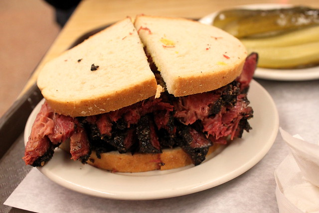 pastrami on rye with mustard