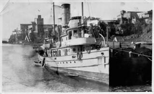 US Navy Harbor tug, 1922, Santo Domingo, Dominican Republic 24 of 26