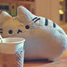 Pusheen with the Coffee