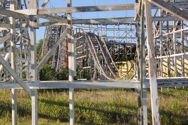 Joyland Wooden Roller Coaster
