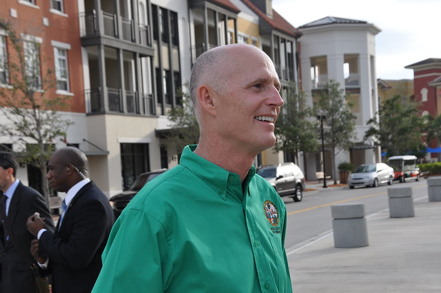 Gov. Scott visits AMU