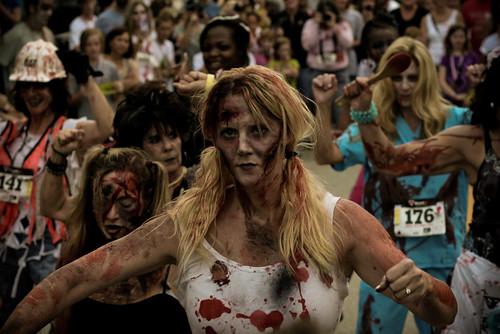 maratonas zombies EUA