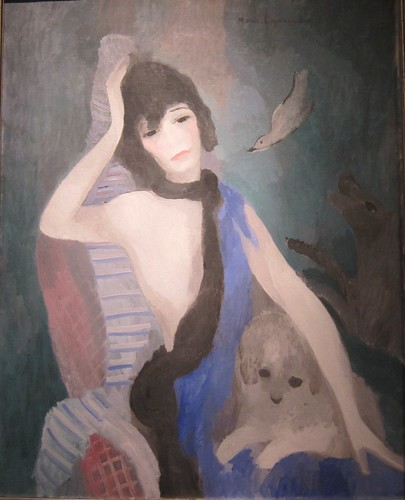 Portrait de Mademoiselle Chanel by Marie Laurencin (1885-1956) - collection of Musée de l'Orangerie, Paris