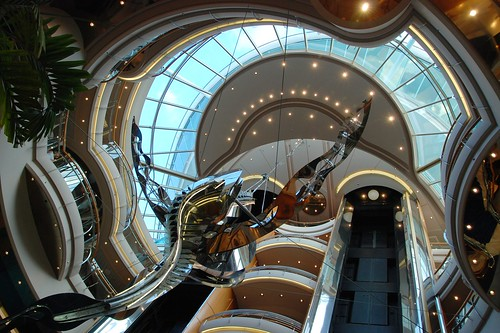Atrium of Vision of the Seas, Mediterraean by shamsters