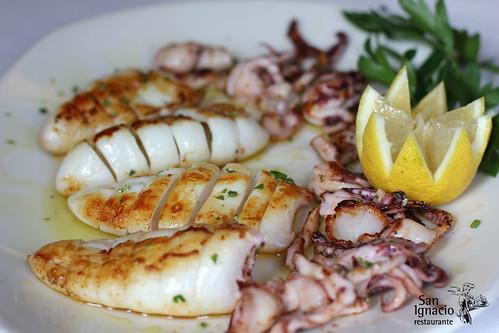 Chipirones a la plancha restaurante san ignacio - Chipiron a la plancha ...