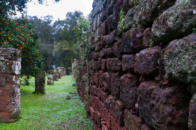 ruinas jesuiticas, San Ignacio Minì, Misiones