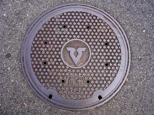 Habikino Osaka manhole cover (大阪府羽曳野市のマンホール)