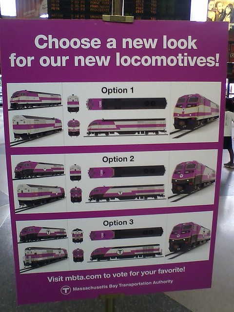 New MBTA locomotive  - Trainz Commuter Rail