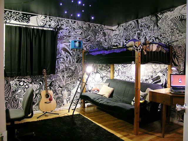 Creative Bedrooms That Any Teenager Will Love: Creative Teen Bedroom 002