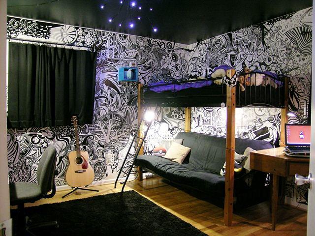 Creative Teen Bedroom 002