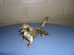 Paper Dragon 1 Photos | Golden welsh dragon | 131