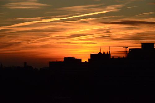 morning sun netherlands clouds sunrise nikon groningen d7000