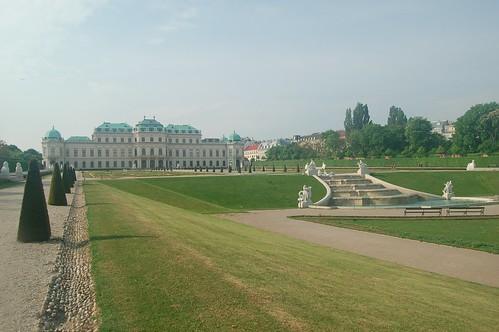 Die Anlagen um den Sommerpalast laden zum Spazierengehen ein