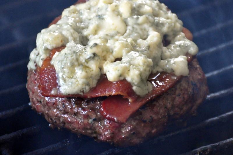 Bacon & Blue Burger