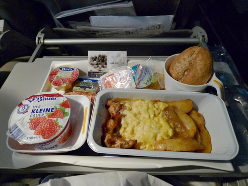 The gallery for --> Qantas Economy Class Food