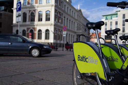 Le bici a Riga