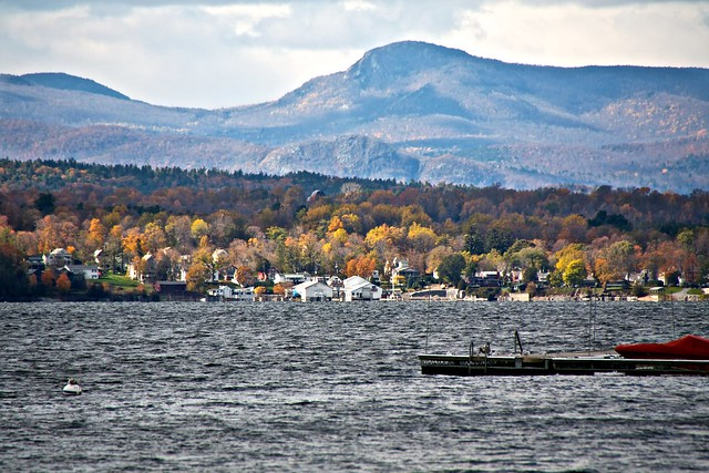 Essex, NY from Lake Champlain