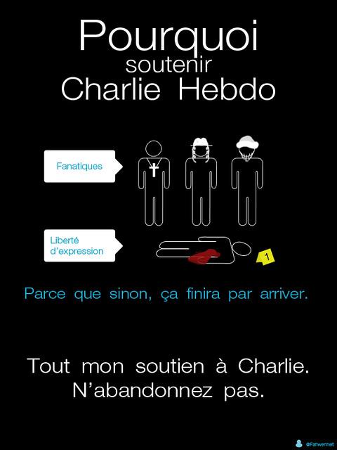 soutien a Charlie Hebdo