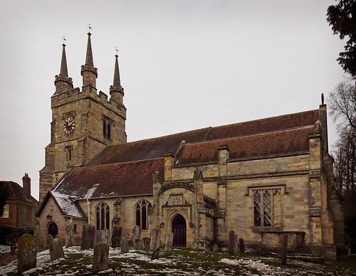St John the Baptist church in Penshurst
