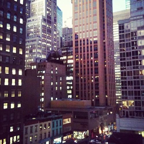 Balcony views. :)