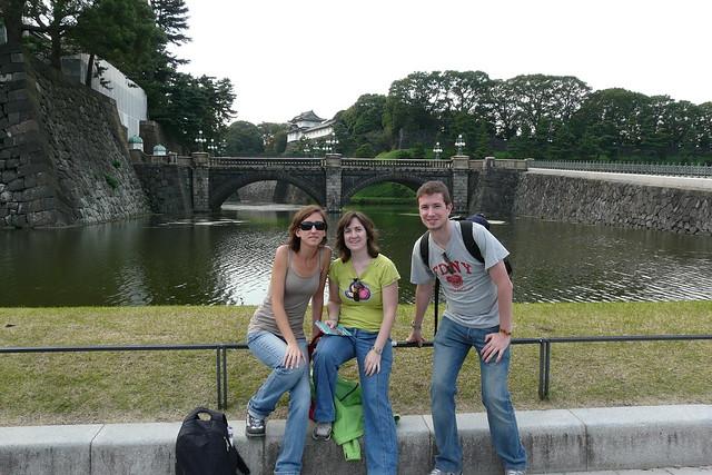 Con el Palacio Imperial al fondo