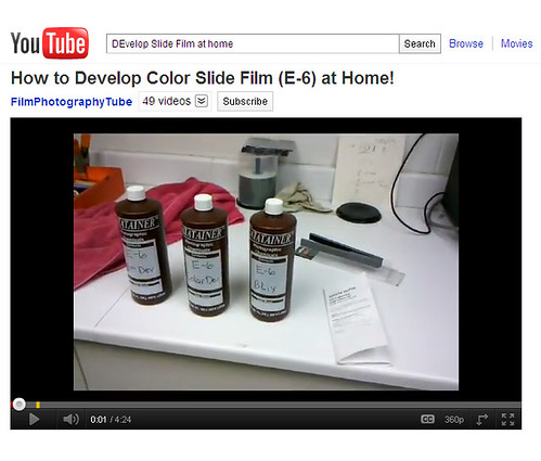 DIY! Develop Color Slide Film at Home!
