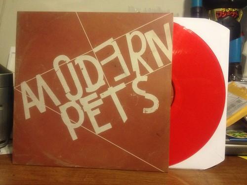 Modern Pets - S/T LP - Red Vinyl /100