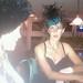 """Drinking the Kermit Lynch wine, Patrick Bottex """"La Cueille"""" Bugey-Cerdon at The Wine Loft, Flagstaff, AZ"""