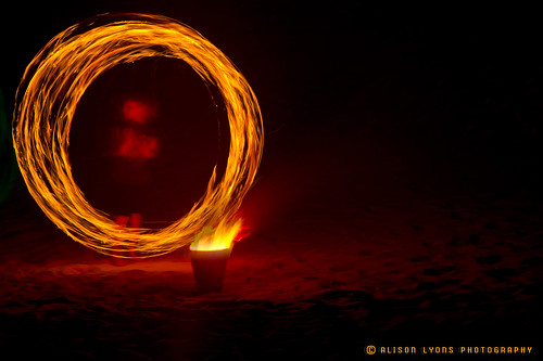 It was all going well until someone set fire to the kerosene in the bucket by alison lyons photography