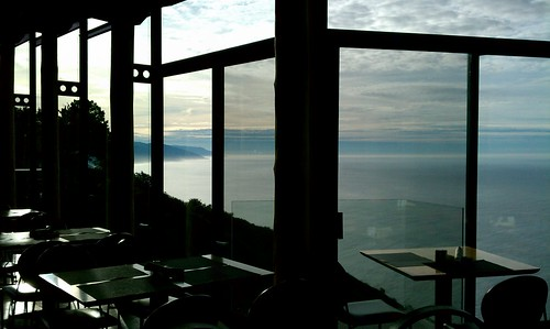 Breakfast View, Post Ranch Inn, Big Sur, CA