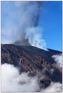 Schiena dell'Asino, Etna - One of few moments of visibility